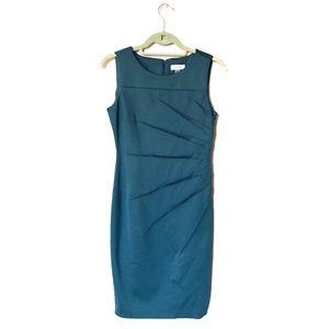 Calvin Klein Teal Sheath Dress
